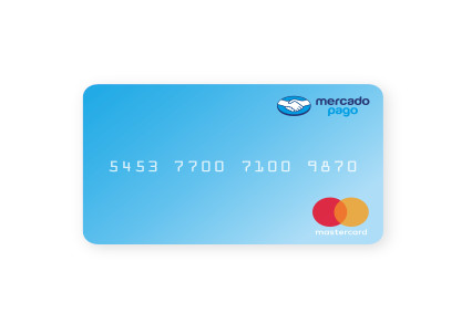 Cartão Pré-Pago internacional com bandeira MasterCard emitido pelo Mercado Pago aos usuários do Brasil.