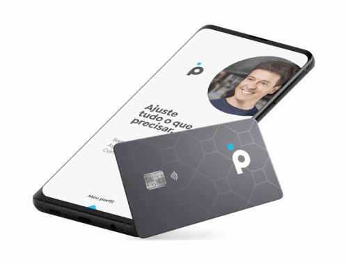 Aplicativo e Cartão da Conta do Banco PAN cuja abertura é feita pelo celular.